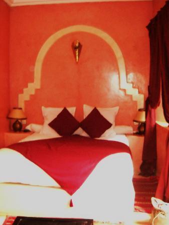 Riad la Croix Berbere: chambre