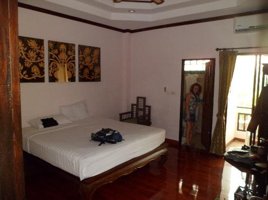 Pha-Thai House: Chambre à 1200 baths (30 euros)
