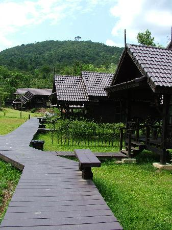 At Home Resort: Chalets and garden