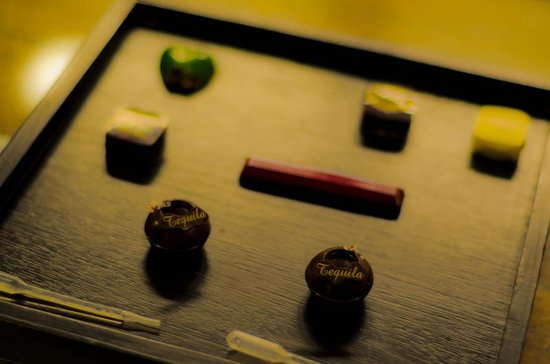 The Chocolate Line Bruges: Our tasting platter