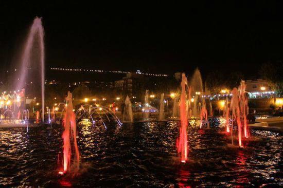 Parc :grand bassin Tlemcen