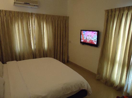 Calangute Grande: Bedroom