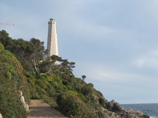 Paloma Beach: Lighthouse at St-Jean-Cap-Ferrat