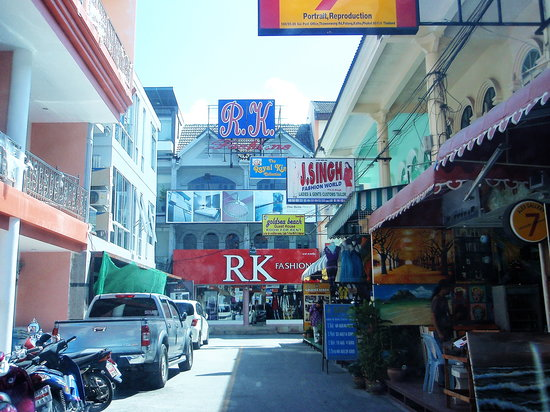 RK Fashions and Tailors: soi post office, beach road