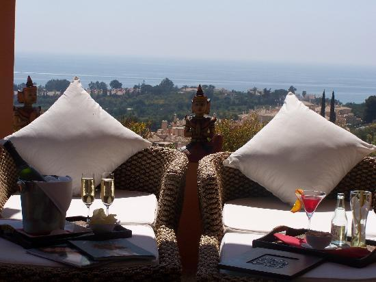 "The Marbella Heights Boutique Hotel: Views from the terrace ""The Marbella Heights"""