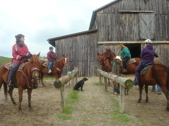 KD Guest Ranch : Ready to hit the trails