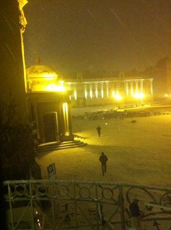 Piața Unirii (Platz der Vereinigung): winter 2011