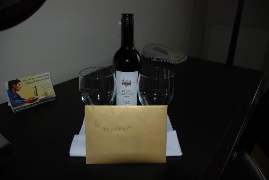 Sprowston Manor Marriott Hotel & Country Club: Our anniversary welcome from hotel