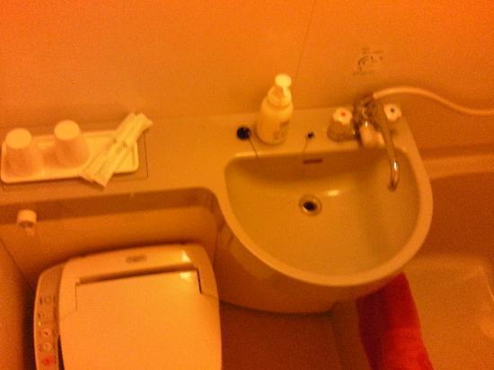 Hotel Rasso Abiyanpana Ishigaki Jima: トイレ