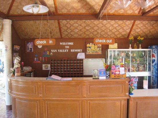 Nan Valley Resort : Small Reception area at the Resort