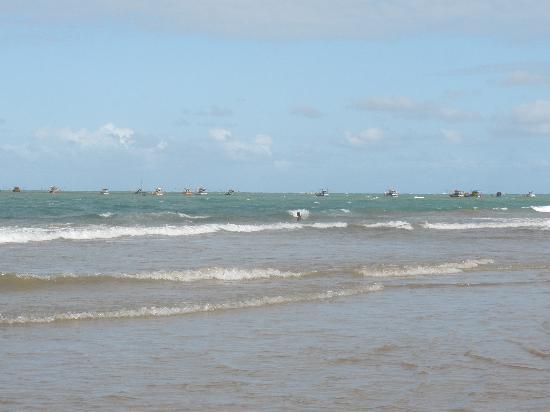 Piaçabuçu, AL: Praia do Pontal do Peba com a maré vazia
