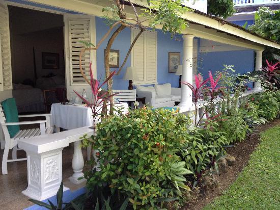 Jamaica Inn: room 33 Veranda