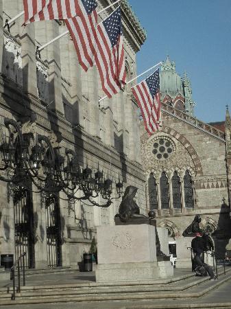 The Westin Copley Place, Boston: Boston Public Library