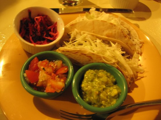 Tranquilo Cafe: kingfish tacos!!