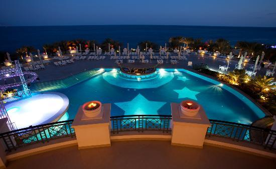 Stella Di Mare Beach Hotel & Spa : Great view from the hotel at sunset