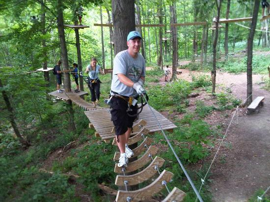 Catamount Aerial Adventure Park : fun day