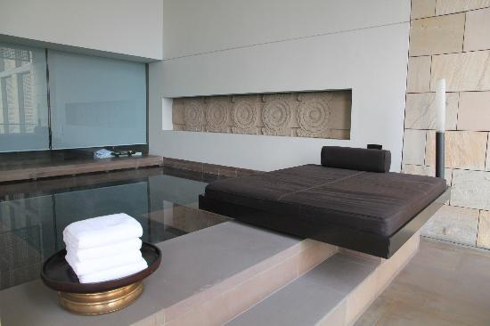 The Lodhi: Plunge pool