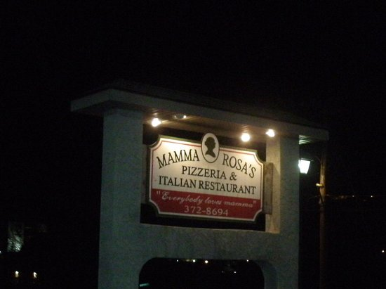 Mamma Rosa S Italian Restaurant Cookeville Menu Prices