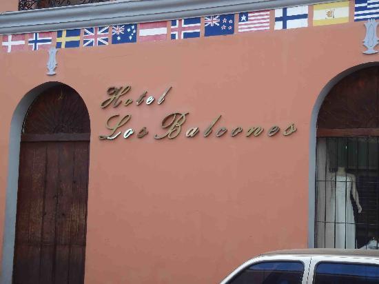Hotel Los Balcones De Leon: Hotel Name