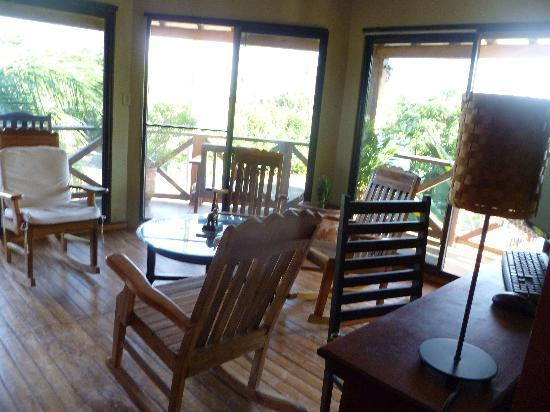 Casita Margarita: The sitting area on the 2nd floor
