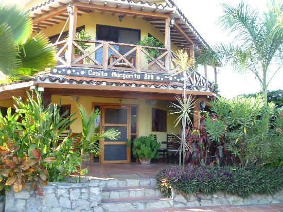 Casita Margarita: The front of Casa Margartia