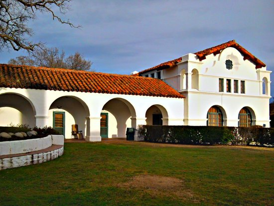 The Hacienda Milpitas - Tower rooms are on the right corner.