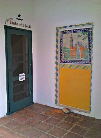 The Hacienda: Entrance to the Tower rooms