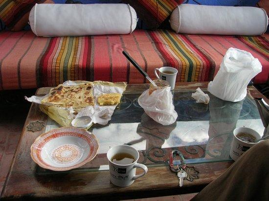 Dar Lbakal: Colazione sulla terrazza