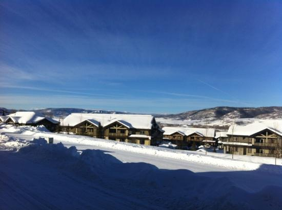 The Inn at Steamboat: the view from my room