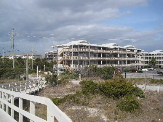 Peppertree Atlantic Beach, a Festiva Destination: our unit from the boardwalk