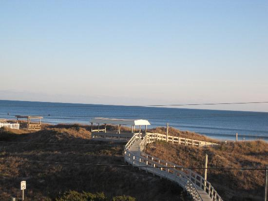 Peppertree Atlantic Beach, a Festiva Destination: view of beach from our deck
