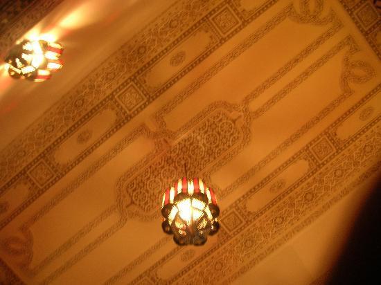 Riad Baba: il soffitto della nostra camera