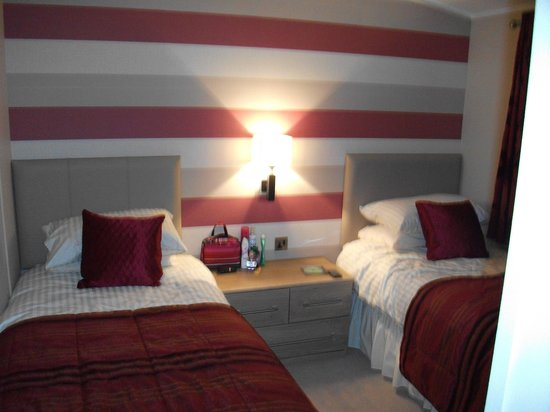 Drimsynie Estate Holiday Village: Albatross twin room
