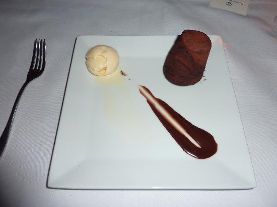 Riverside Restaurant: Chocy hmmmm!!