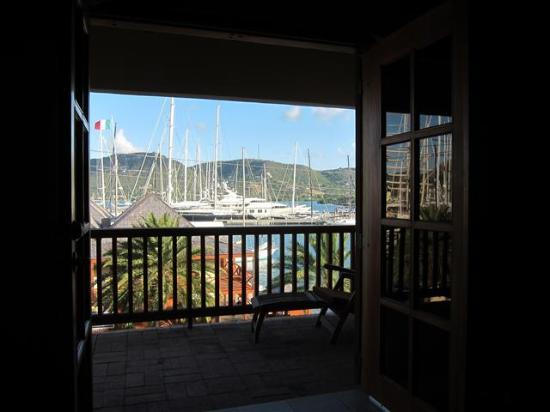 Antigua Yacht Club Marina Resort: vista dalla camera