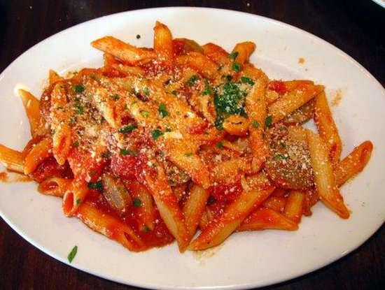 Mamma Lucia of Frederick: My penne pasta with sausage