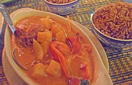 New Chiang Mai Thai Cuisine: Roasted Duck Curry
