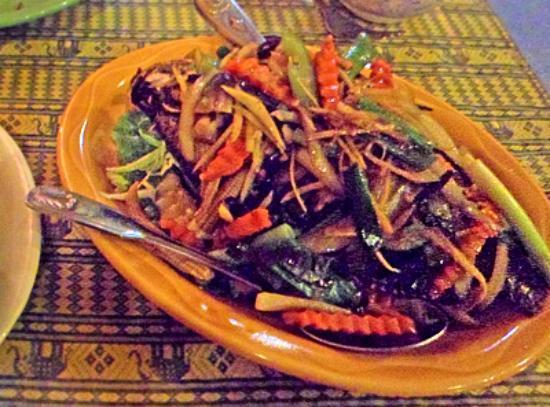 New Chiang Mai Thai Cuisine : Tilapia in Black Bean Sauce