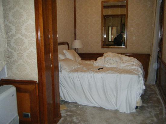 Barocco Hotel: Esta desordenada..