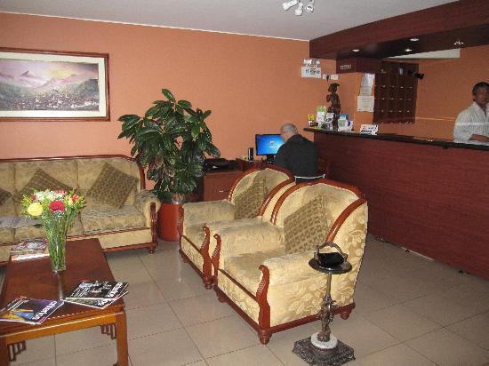 Hotel Sandmelis: Lobby