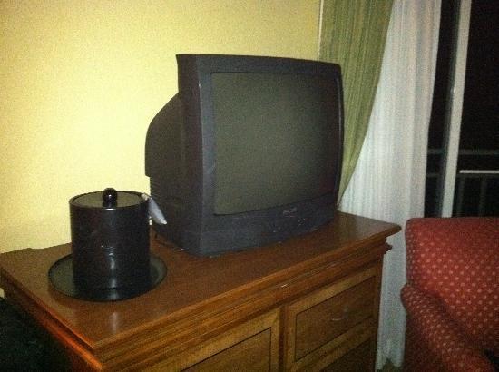 Hutchinson Island Marriott Beach Resort & Marina: Old TVs