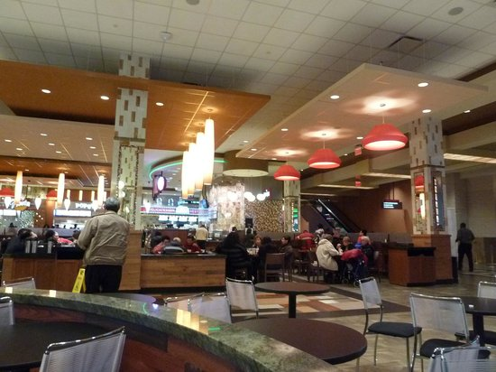 Queens, Nowy Jork: food court