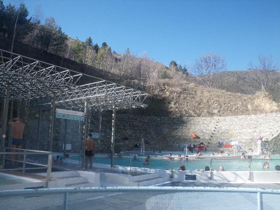 Bains de Saint Thomas au Plancton: bains exterieur