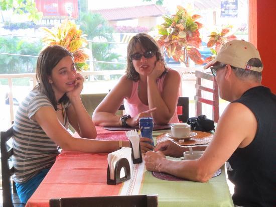Restaurante Chile, Maiz y Frijol: Rose Margaret and Andy