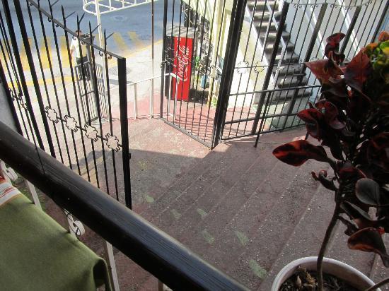 Restaurante Chile, Maiz y Frijol: Up the stairs