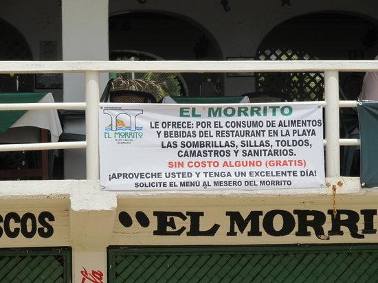 El Morrito : sign