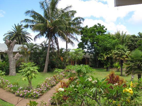 O'tai Hotel: Garden view