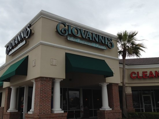 Giovanni's: out front
