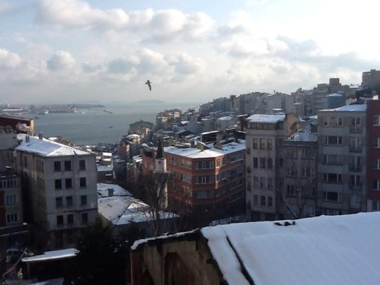 Taksim Metropark Hotel: the view from our room ....!