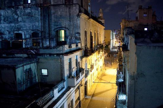 La Casa De La Calle Luz Bed & Breakfast : a view from the balcony onto the Calle Luz